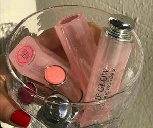 beauty, lipstick, and lip gloss image