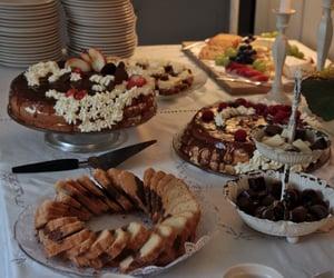 autumn, baking, and cake image