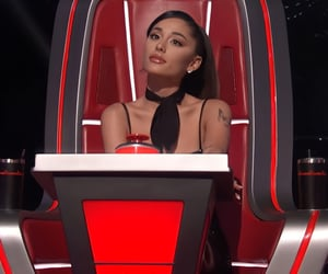 hq, the voice usa, and ariana grande image
