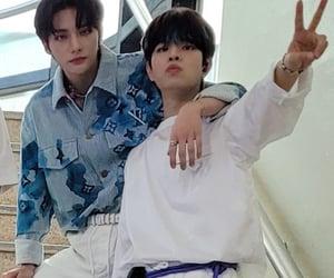 hyunjin, stray kids, and seungmin image