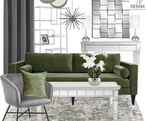 bookcase, interior decor, and sofa image