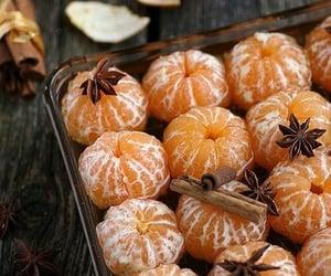christmas, food, and tangerine image
