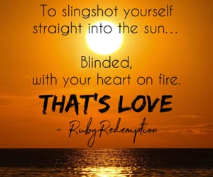 blinded, love quotes, and words image