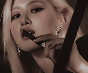 gif, rose, and jennie image