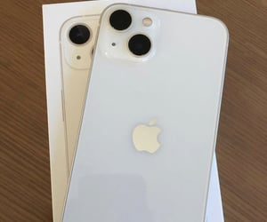 white and iphone 13 image