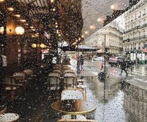 rain, aesthetic, and autumn image