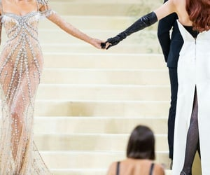 best friends, besties, and fashion image