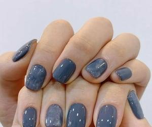 nail polish, nails, and nail paint image