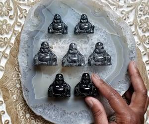 Buddha, crystal shop, and crystal image