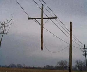 cross, aesthetic, and electric image