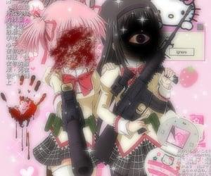 anime, pastels, and yamikawaii image