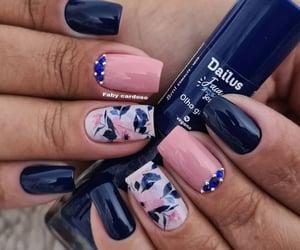 manicure, unhas pintadas, and unhas decoradas image