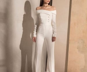aesthetic, fashion, and white outfit image