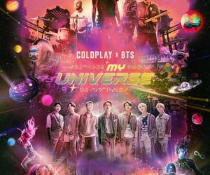 wallpapers, bts, and coldplay image