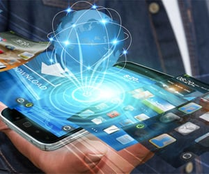 mobile app and mobile app development image