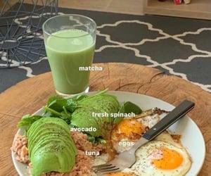 avocado, breakfast, and eggs image