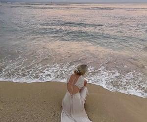 beach, ocean, and pretty image