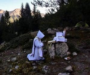 Alps, Catholic, and monk image