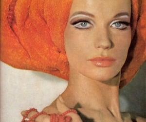 models, vintage, and 1960's image