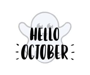 new, october, and month image