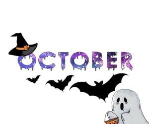 aesthetic, Halloween, and hello image
