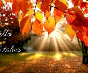 hello october, bye september, and welcome october image