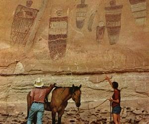 national geographic, rock art, and utah image