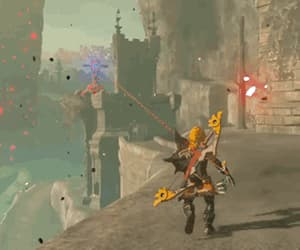 fantasy, fight, and link image