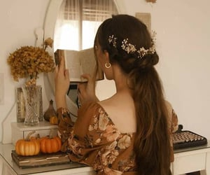 accessory, art, and autumn image