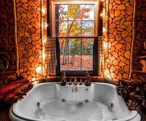 autumn, bathroom, and bath image