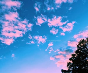 beautiful, clouds, and cotton candy image