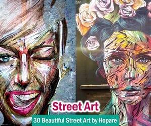 art, street art, and street artwork image