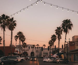 aesthetic, california, and sunset image