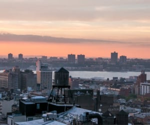 sunset, tumblr, and edificios image