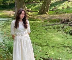 autumn, dress, and fairy image