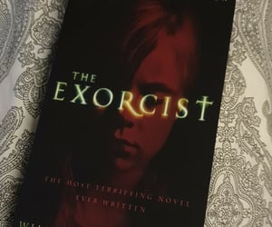 book, novel, and the exorcist image
