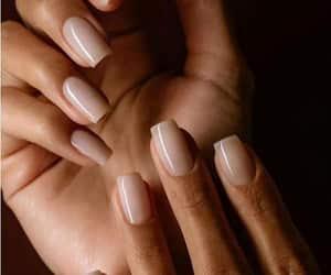 nail art decals, sparkling nail designs, and nude nail art image
