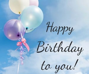 anniversary, balloon, and birthday image