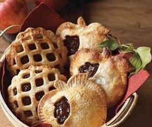 food, apple, and autumn image