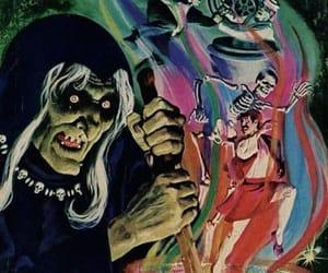 art, comic, and Halloween image
