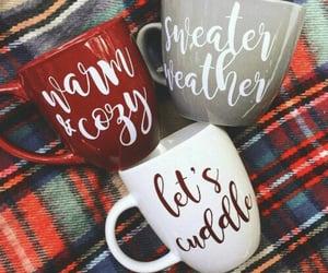 winter, christmas, and mug image