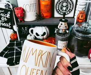 autumn, coffee, and costumes image