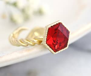 cocktail ring, etsy, and statement ring image