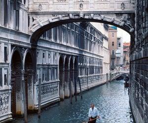 architecture, boat, and gondola image