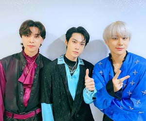 johnny, jungwoo, and doyoung image