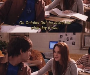 mean girls, october, and quote image