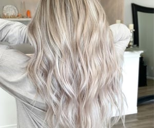 blonde, highlights, and hair inspo image