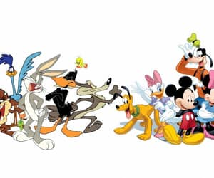 characters, warner brothers, and disney image