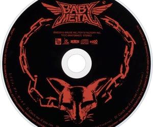 cd, disc, and babymetal image