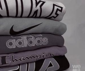 adidas, champion, and nike image